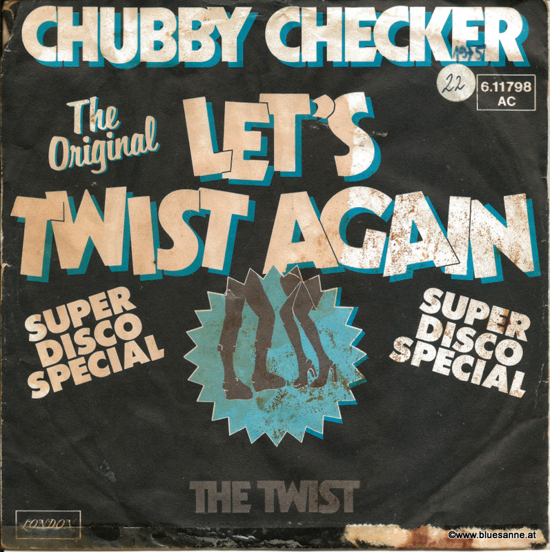 Chubby Checker ‎– Let´s Twist Again 1976/1961