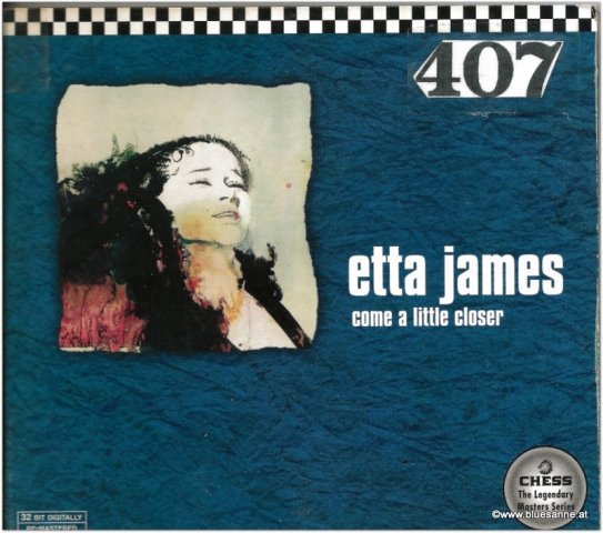 Come a little closer Etta James CD
