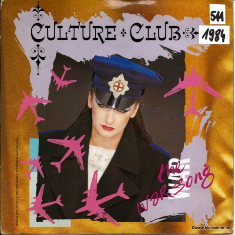 Culture Club ‎– The War Song 1984 Single