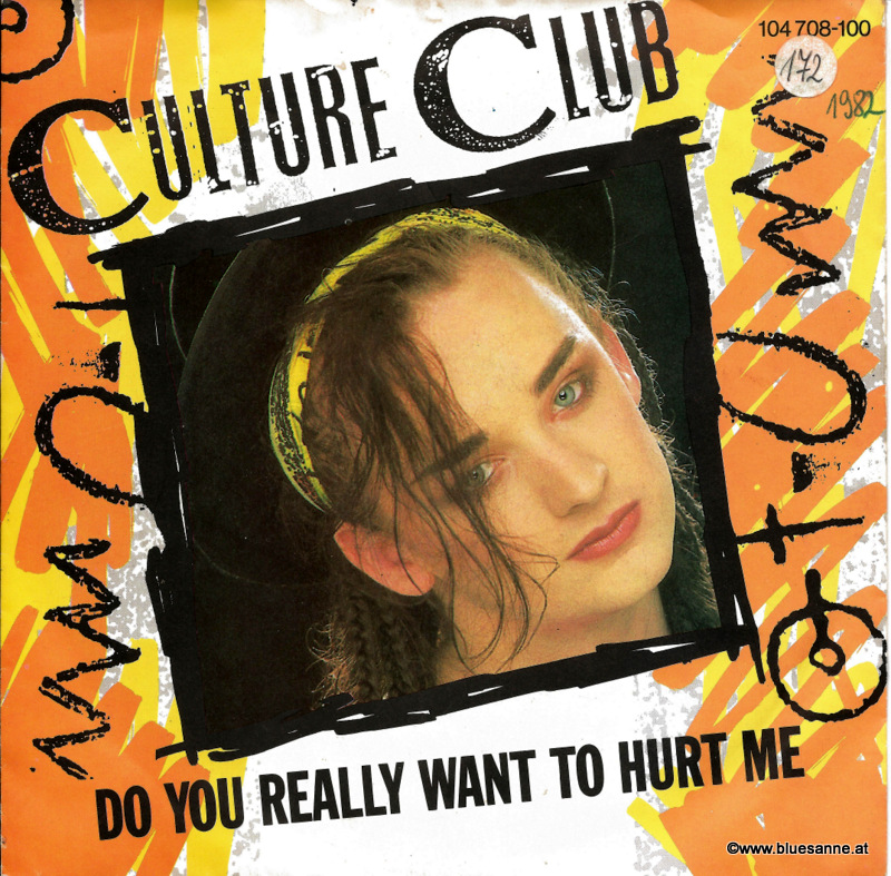 Culture Club Do you really want to hurt me 1982 Single