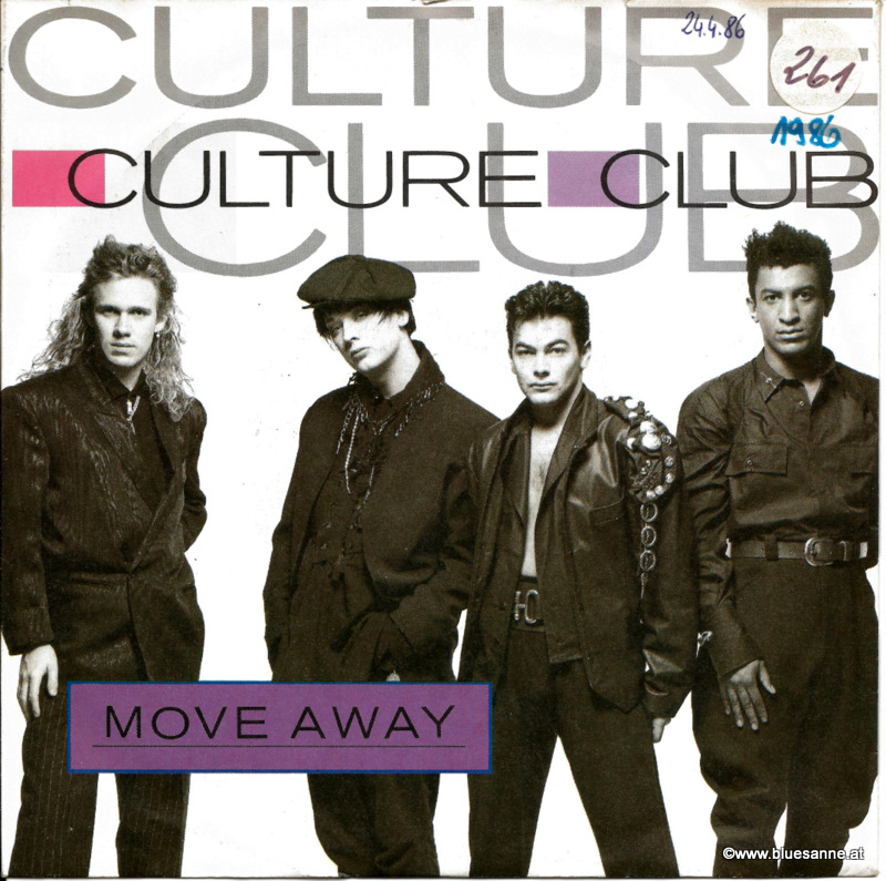 Culture Club Move away 1986 Single