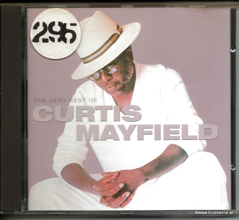 Curtis Mayfield ‎– The Very Best Of Curtis Mayfield 1996 CD