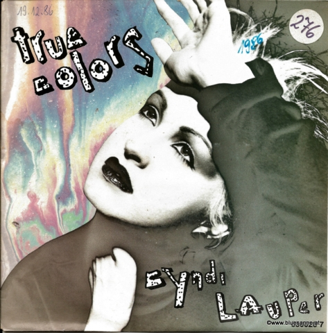 Cyndi Lauper ‎– True Colors 1986 Single