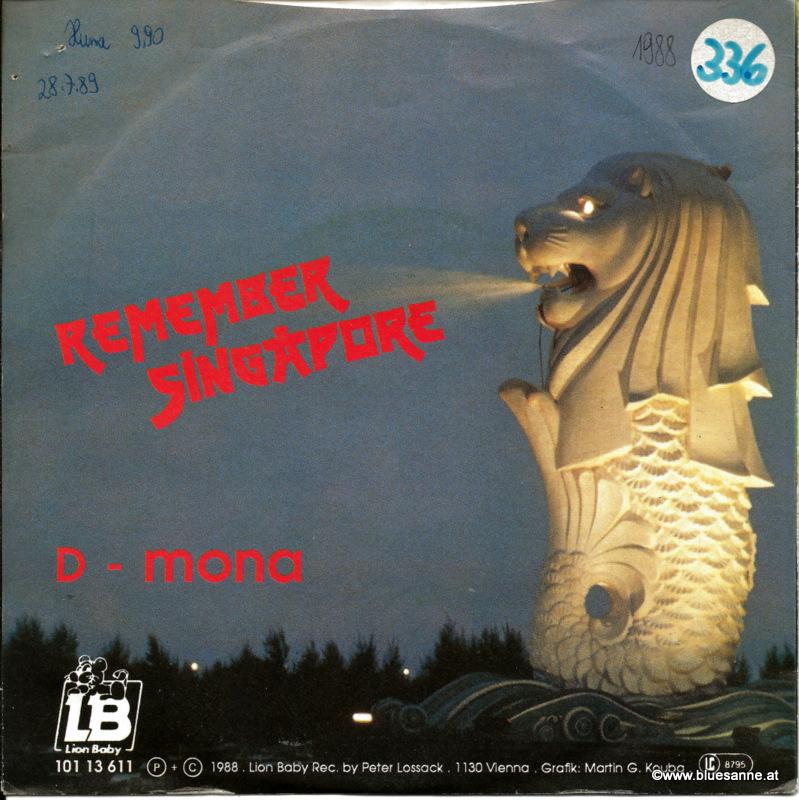 D-Mona – Remember Singapore 1988