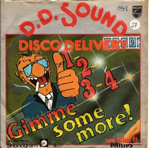 D.D. Sound ‎– 1-2-3-4 Gimme Some More! 1978