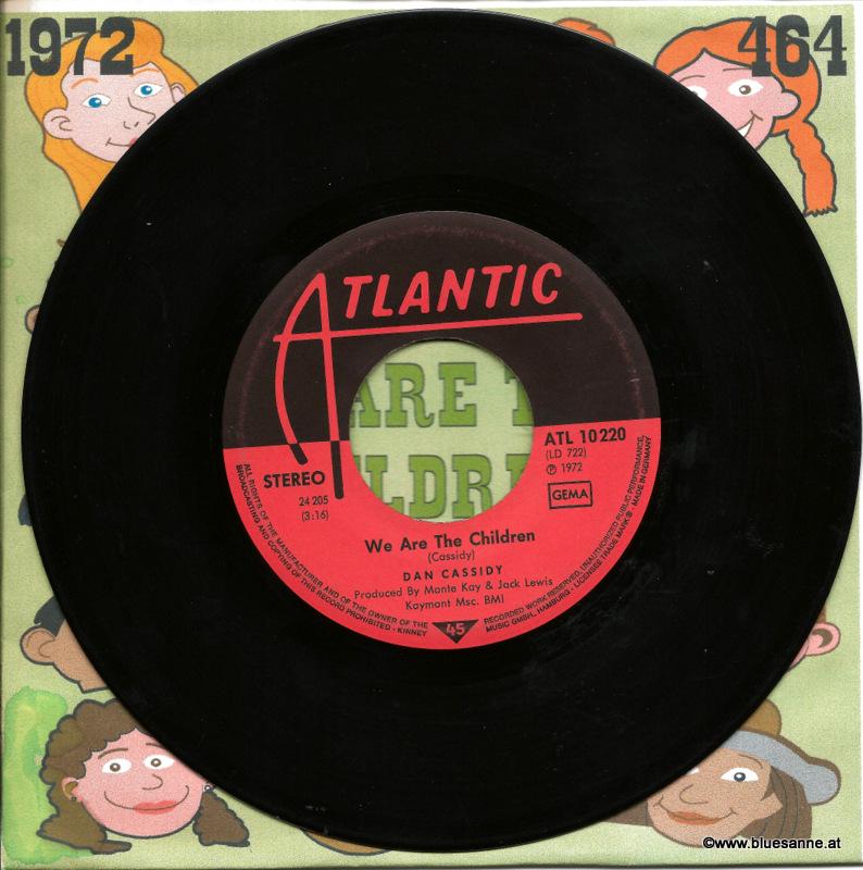 Dan Cassidy - We Are The Children 1972