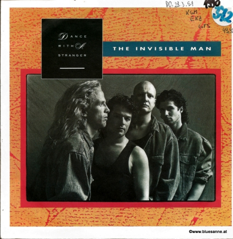 Dance with a stranger -The Invisible Man 1990Single
