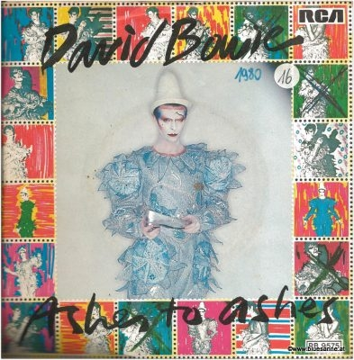 David Bowie Ashes to Ashes Single