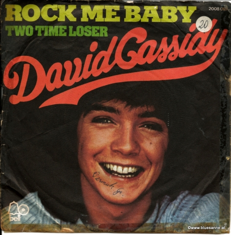 David Cassidy ‎– Rock Me Baby 1972
