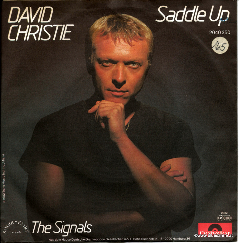 David Christie Saddle Up 1982 Single