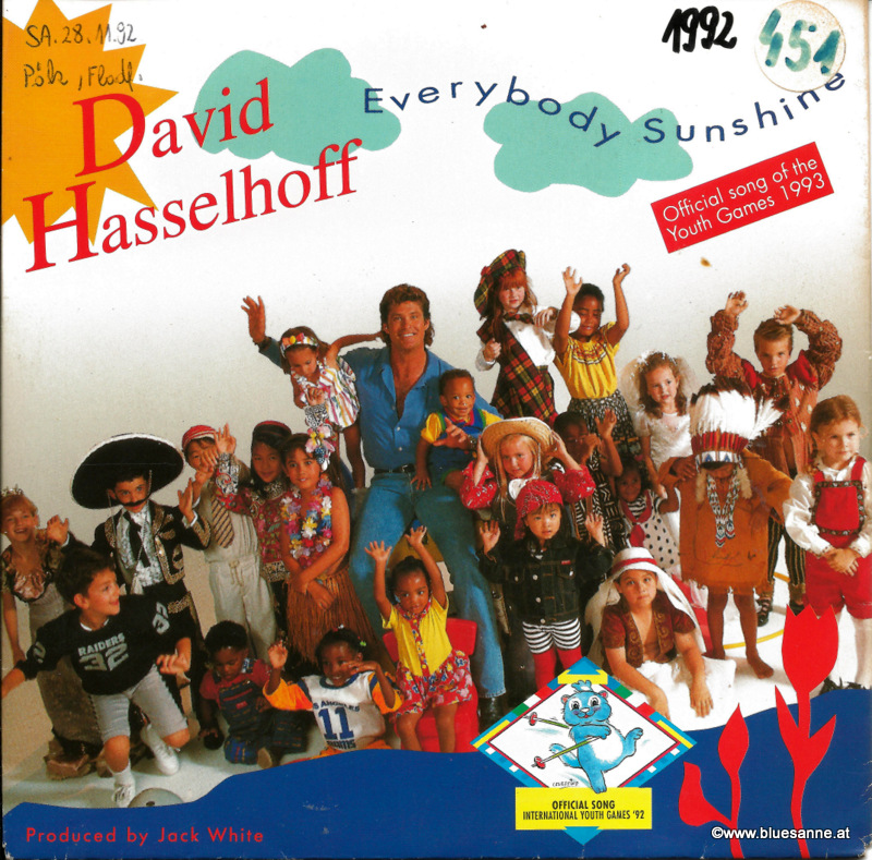 David Hasselhoff ‎– Everybody Sunshine 1992