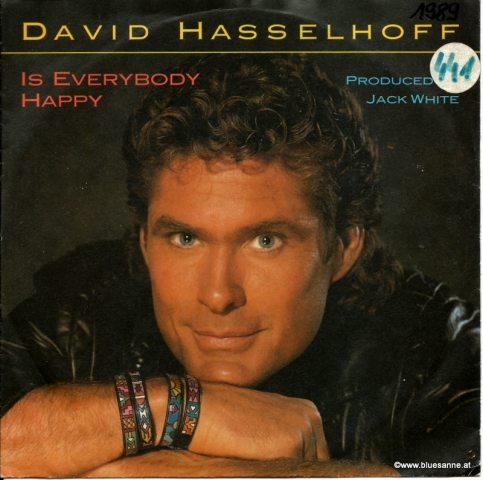 David Hasselhoff ‎– Is Everybody Happy 1989