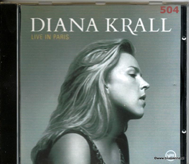 Diana Krall Live in Paris 2002 CD