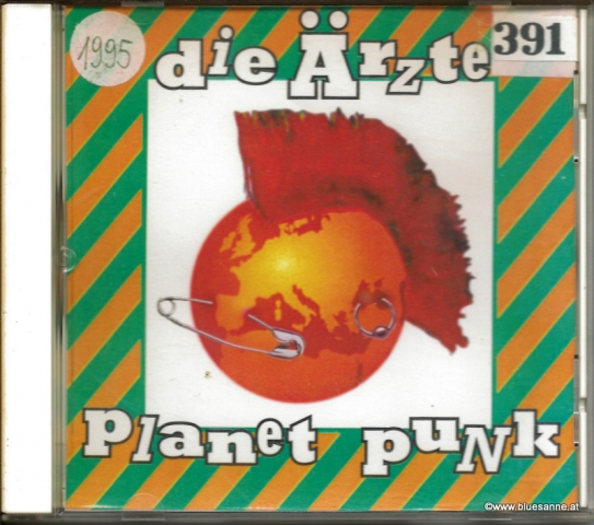 Die Ärzte – Planet Punk 1995 CD