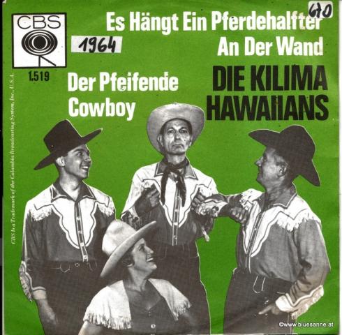 Die Kilima Hawaiians – Es hängt ein Pferdehalfter an der Wand 1964