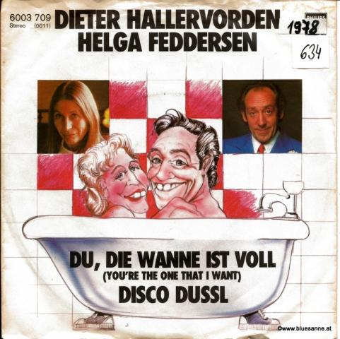 Dieter Hallervorden / Helga Feddersen – Du, die Wanne ist voll 1978