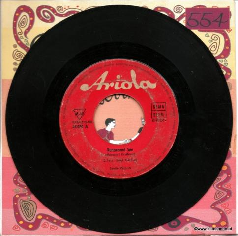 Dion  – Runaround Sue + Runaway Girl 1961
