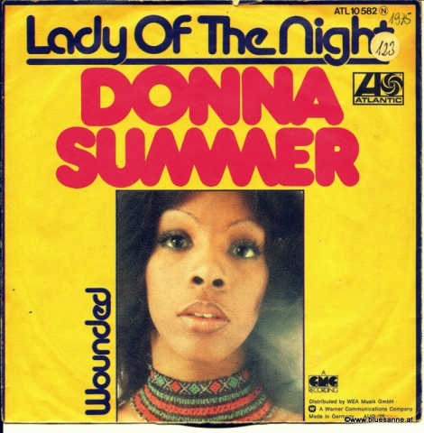 Donna Summer Lady of the night 1974 Single