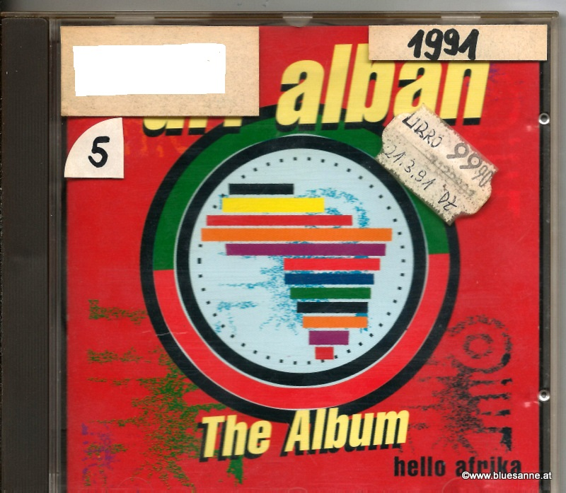 Dr. Alban ‎– Hello Afrika 1990 CD