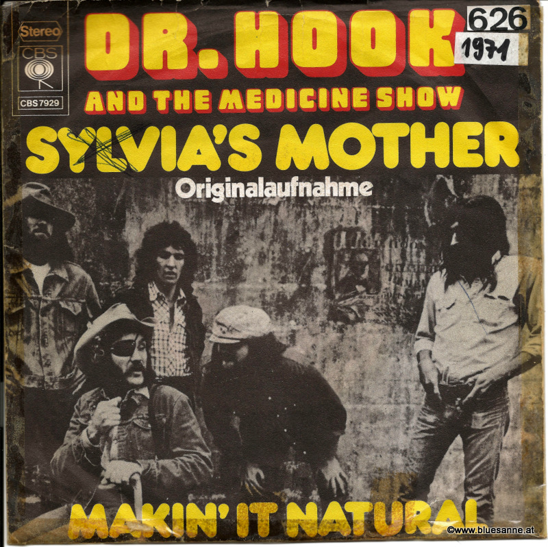 Dr. Hook And The Medicine Show‎– Sylvia;s Mother 1972 Single