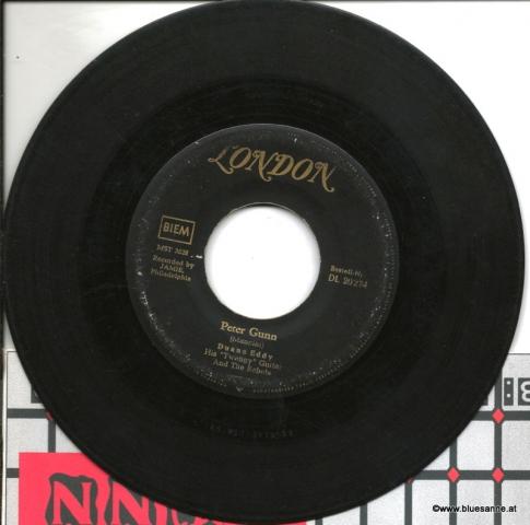 Duane Eddy  Peter Gunn1959 Single