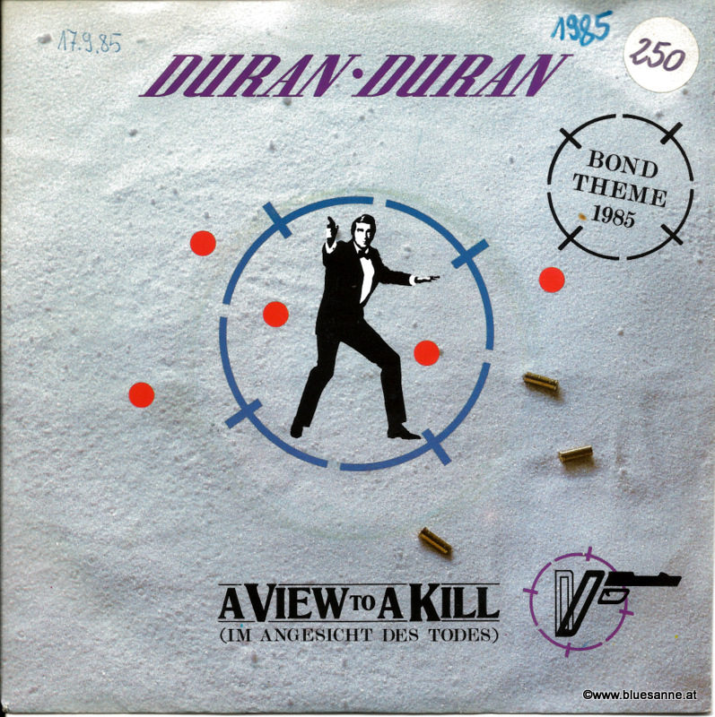 Duran Duran ‎– A View To A Kill 1985