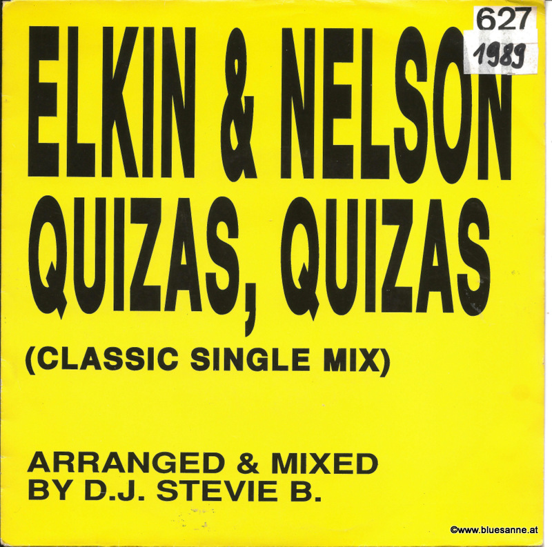 Elkin & Nelson ‎– Quizas, Quizas (Classic Single Mix) 1988
