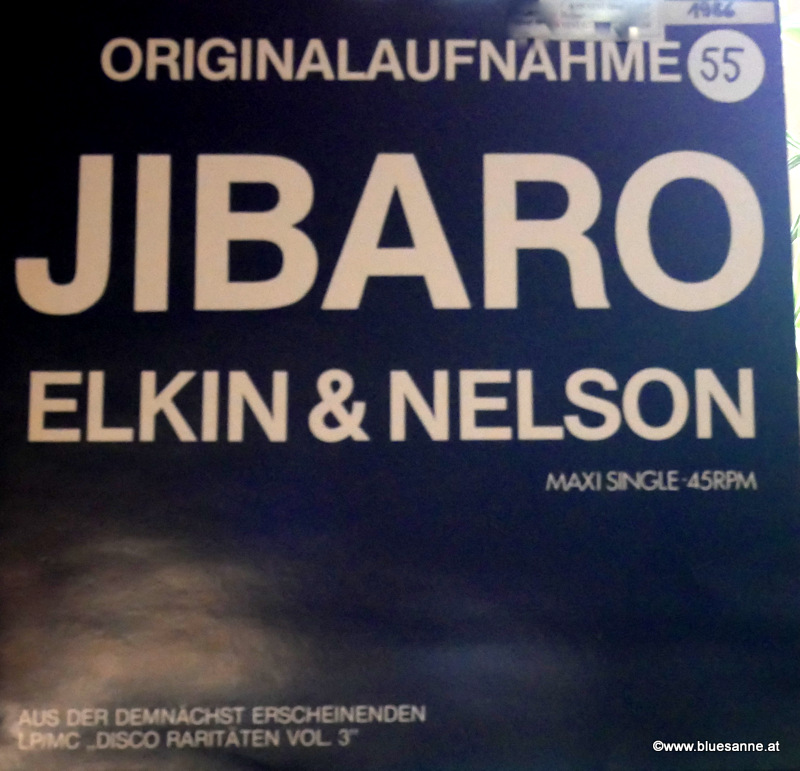 Elkin + Nelson Jibaro MaxiSingle