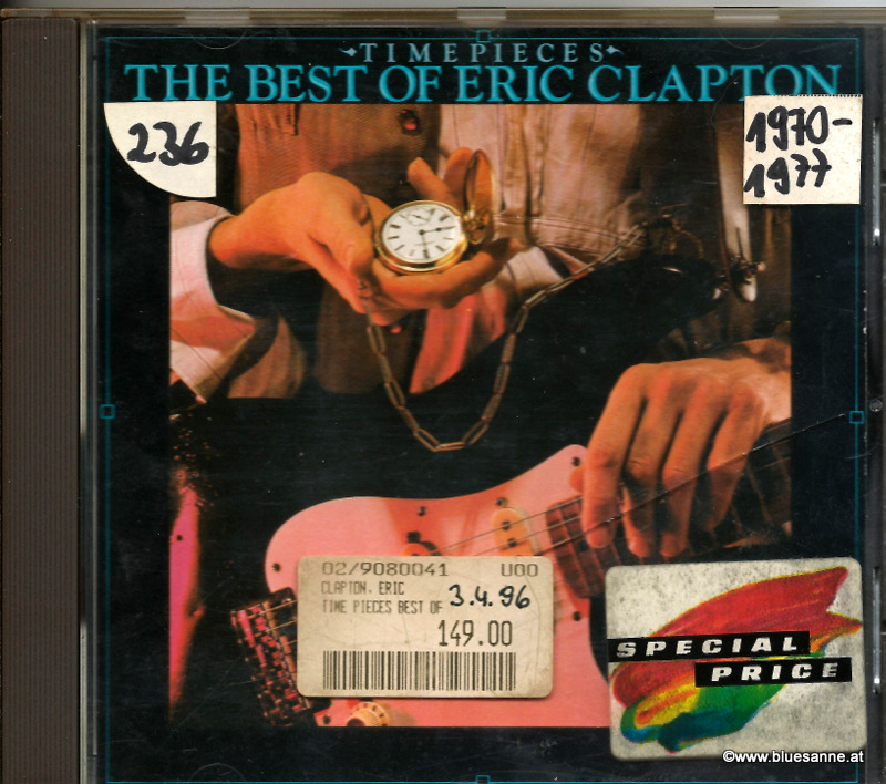 Eric Clapton ‎– Time Pieces The Best Of Eric Clapton 1982 CD
