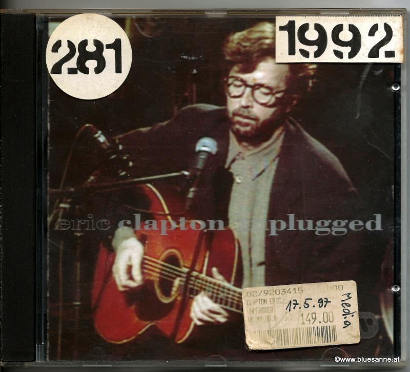 Eric Clapton – Unplugged 1992 CD