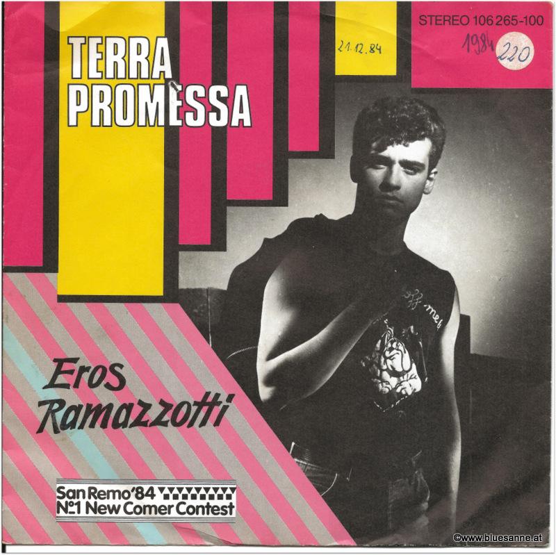 Eros Ramazzotti Terra Promessa 1984 Single