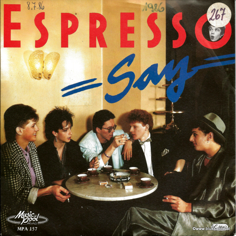 Espresso Say 1986 Single