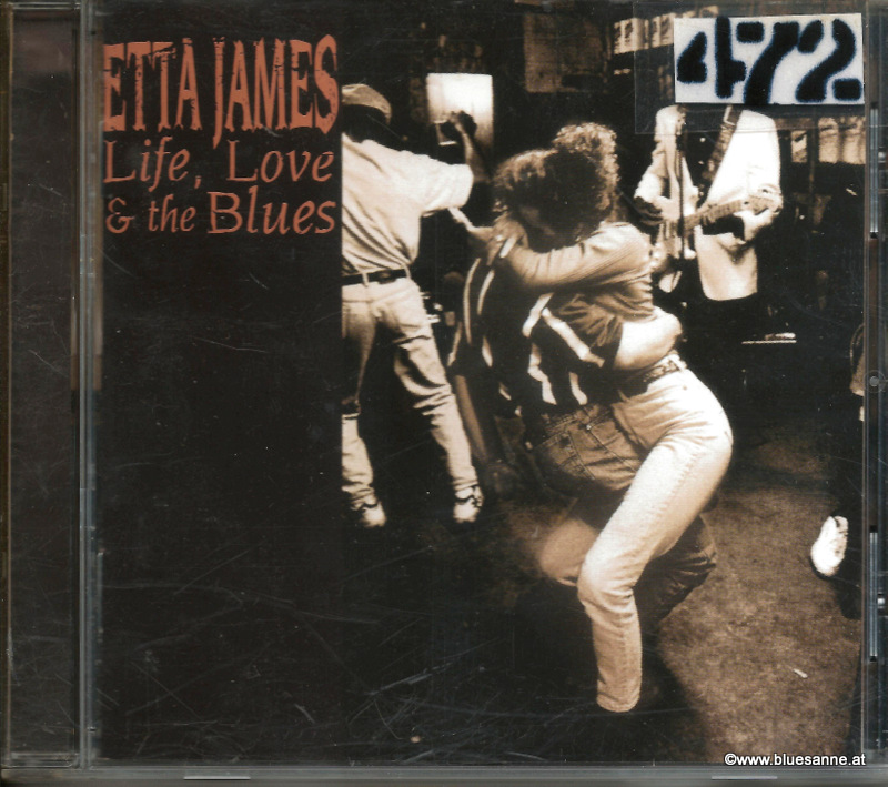 Etta James Life Love The Blues CD