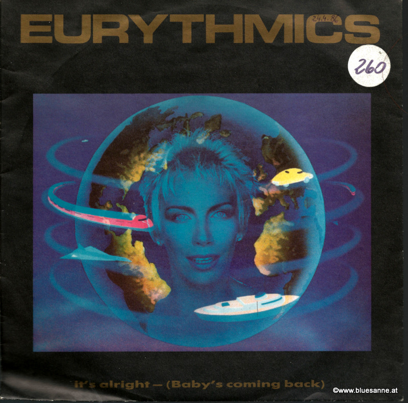Eurythmics Its alright 1985 Single