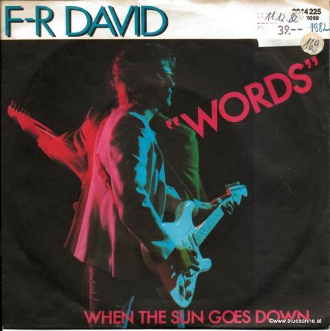 F-R David – Words 1982