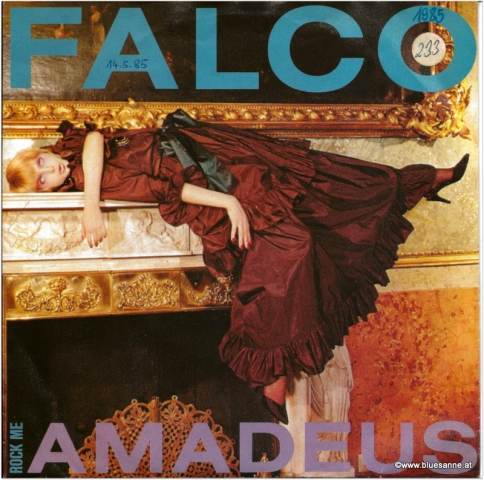 Falco Rock me Amadeus1985 Single