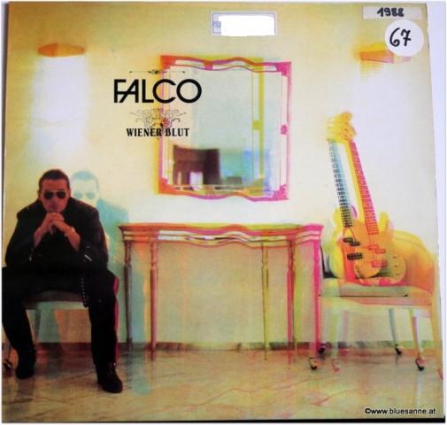 Falco Wiener Blut 1988 LP