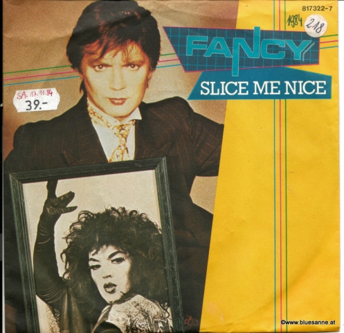 Fancy ‎– Slice Me Nice 1984