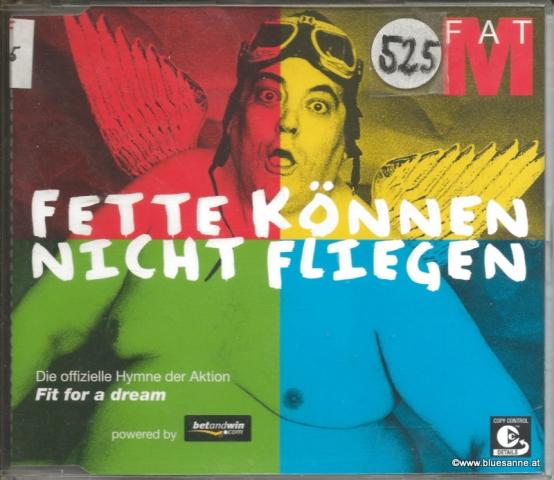 FatM - Fette können nicht fliegen 2003 CD-Single