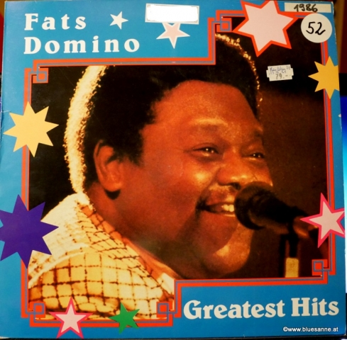 Fats Domino Greatest Hitss 1986 LP