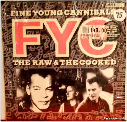 Fine Young Cannibals The Raw + The Cooked 1988 LP