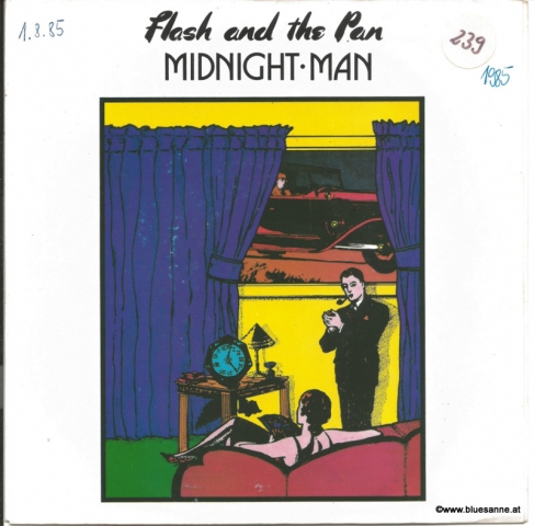 Flash And The Pan ‎– Midnight Man 1985