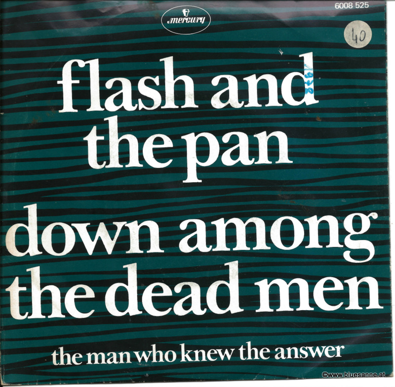 Flash And The Pan ‎– Down Among The Dead Men 1978