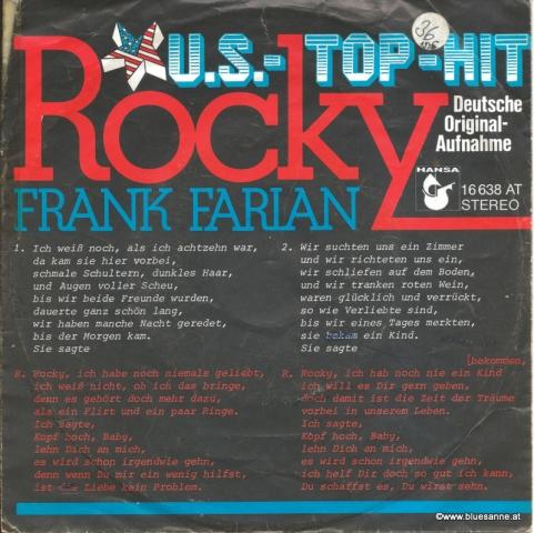 Frank Farian – Rocky 1975