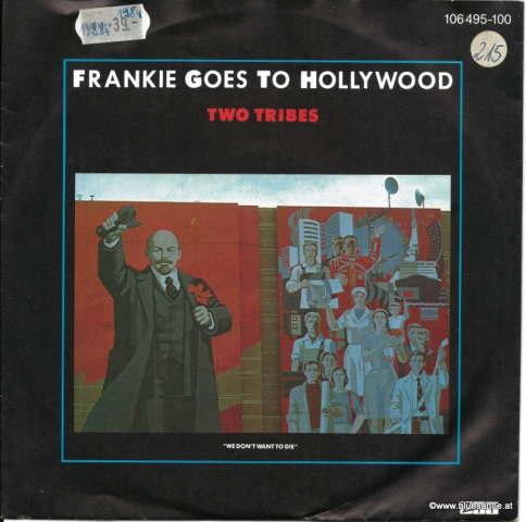 Frankie Goes to Hollywood Two Tribes 1983Single