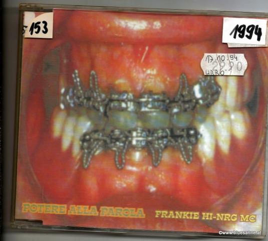 Frankie Hi-NRG MC – Potere Alla Parola 1994 CD