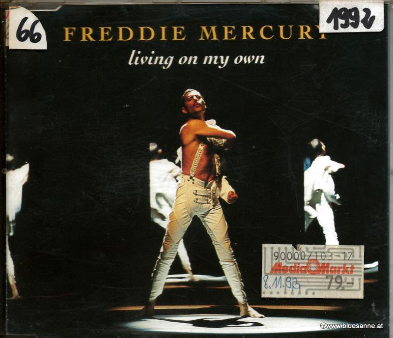 Freddie Mercury Living on my own 1982 CD-Single