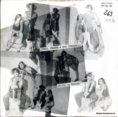 Fredi Fender & Eva Caroselli – Prima La Musica 1986