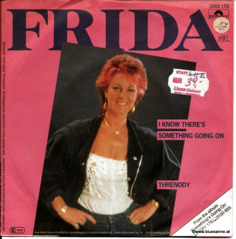 Frida ‎– I know there´s something going on 1982