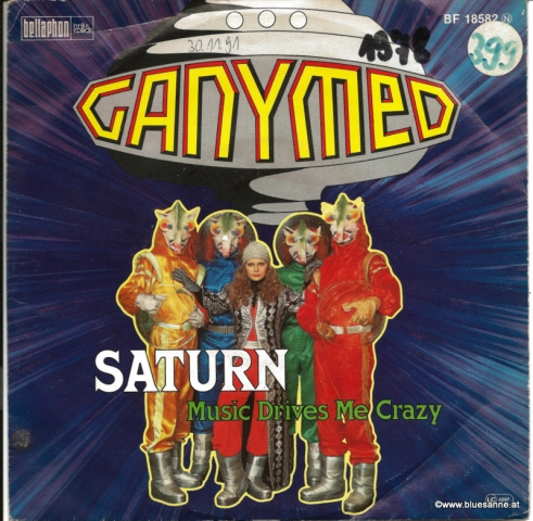 Ganymed- Saturn / Music drives me crazy 1978 Single